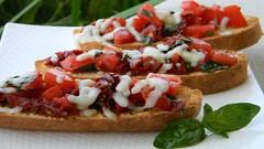Double Tomato Bruschetta