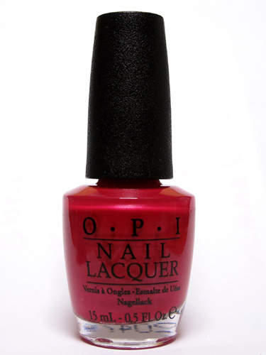 O.P.I. California Raspberry
