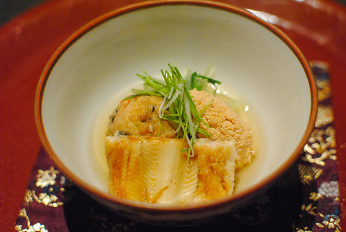 Soft Sea Eel and Tofu Bowl