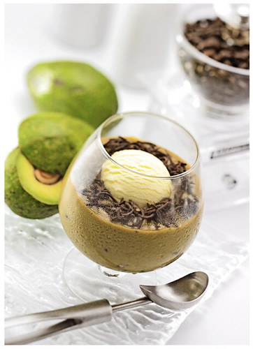Avocado Coffee Float