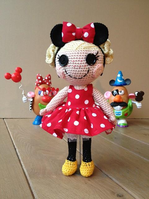Amigurumi Disney Livre : Lalaloopsy went to disneyland Flickr - Photo Sharing!