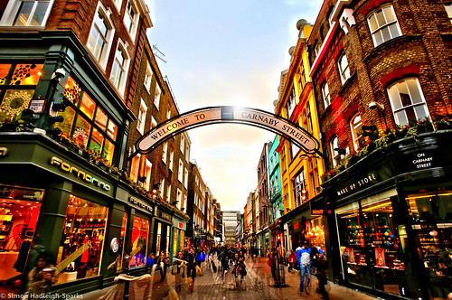 Carnaby Street London - Blended by Simon & His Camera