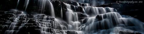 park new york blue white ny newyork black water grey waterfall state pano gray falls ltd chittenango chittenangofallsstatepark dwoodphotography dwoodphotographycom