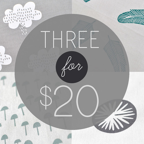 3for$20 cotton panels