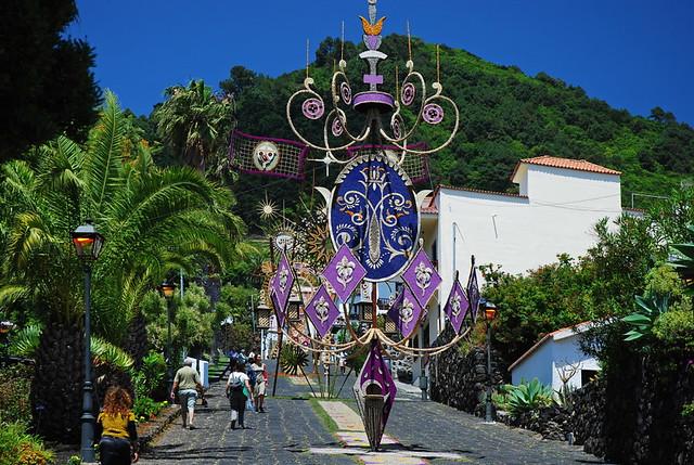 Floral Arc, Villa De Mazo, Image Patronato Turimo La Palma