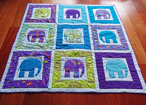 Elephant Quilt 04