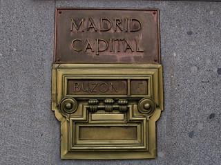 Madrid * El buzon nº 5 de Correos