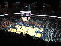John Paul Jones Arena Before UVA-UNC Game