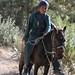 Boy on a horse - Joven montado a caballo entre San Miguel Piedras y San Pedro Teozacoalco - Yutanduchi de Guerrero, Distrito de Nochixtlán, Región Mixteca, Oaxaca, Mexico por Lon&Queta