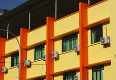 Colourful apartments, Kota Bharu