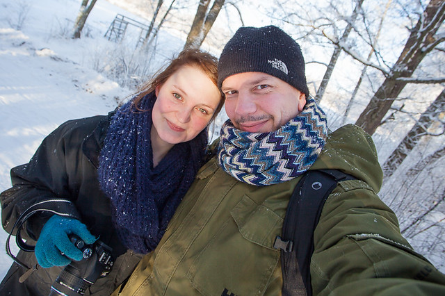 Tanya and I on a photowalk today