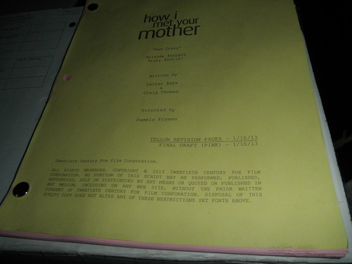 How I Met Your Mother Script