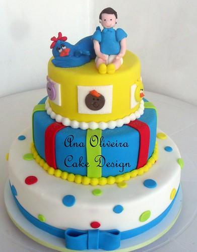 bolo galinha pintadinha by Ana Oliveira Cake Design