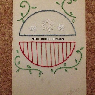 The Good Citizen. First in a series (I hope!)