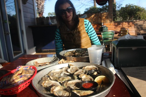 Day 172: Back to Hurricane Oyster Bar for more.
