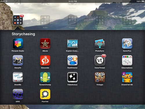 Storychasing iPad Apps (Jan 2013)