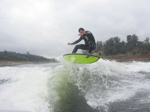 Late January Wakesurfing 258