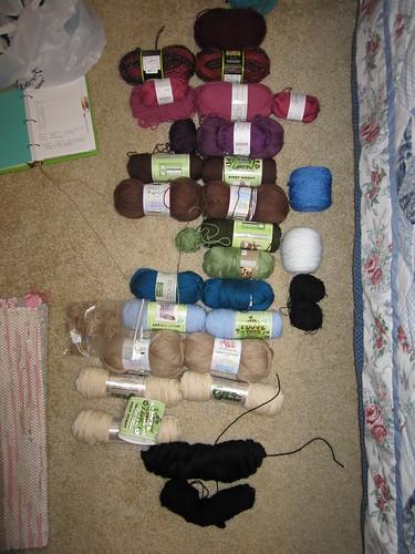 Weather Blanket yarn