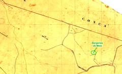 Extrait du Cadastre Napoléonien pour le secteur des bergeries de Mela du Haut-Cavu