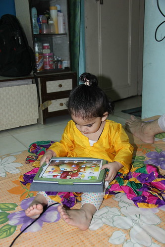 The Cyber Smart Kid Nerjis Asif Shakir 18 Month Old by firoze shakir photographerno1