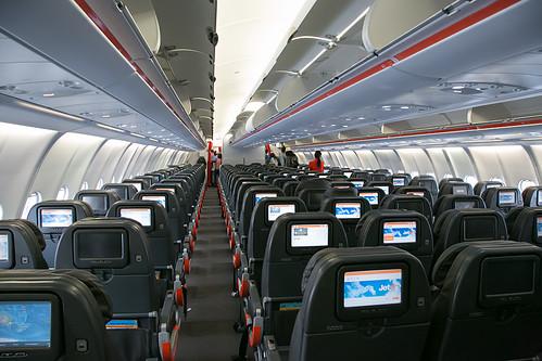 Travelrewards Jetstar Airbus A330 200 Economy Cabin