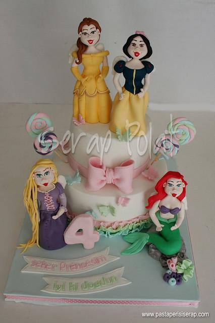 Disney Prenses Pastası