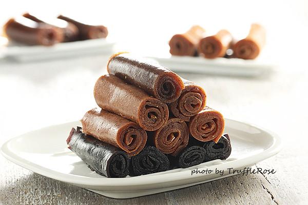 水果軟糖捲 Fruit Roll-Ups & 也可用市售果醬做喔-20130205