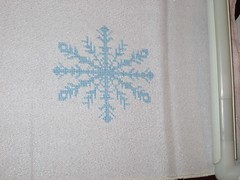 January Snowflake - Stitching the Night Away Ornament Club 2013