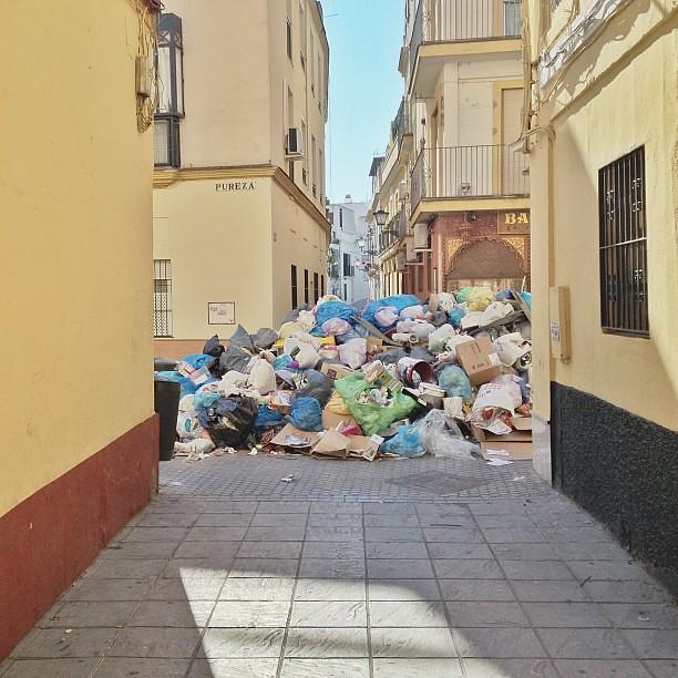 #Basura #Huelga #Sevilla #2013
