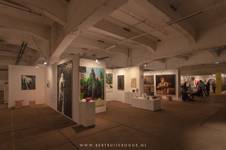 art in the warehouse impressie tentoonstelling