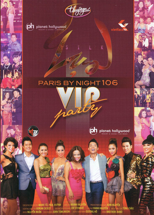 Paris By Night 106: Lụa Vip Party Bluray 1080i