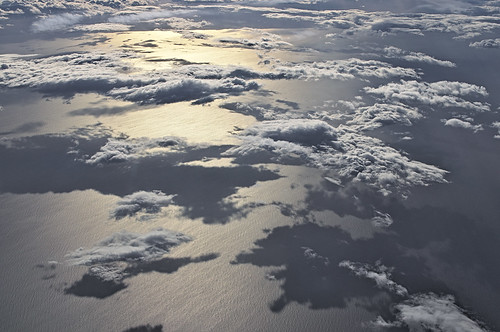 Clouds over the Adriatic sea