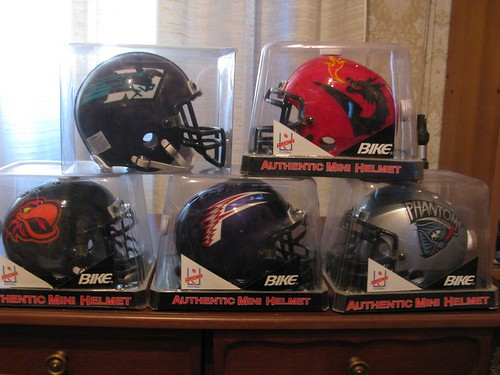 Mini Helmets: Arena Football League