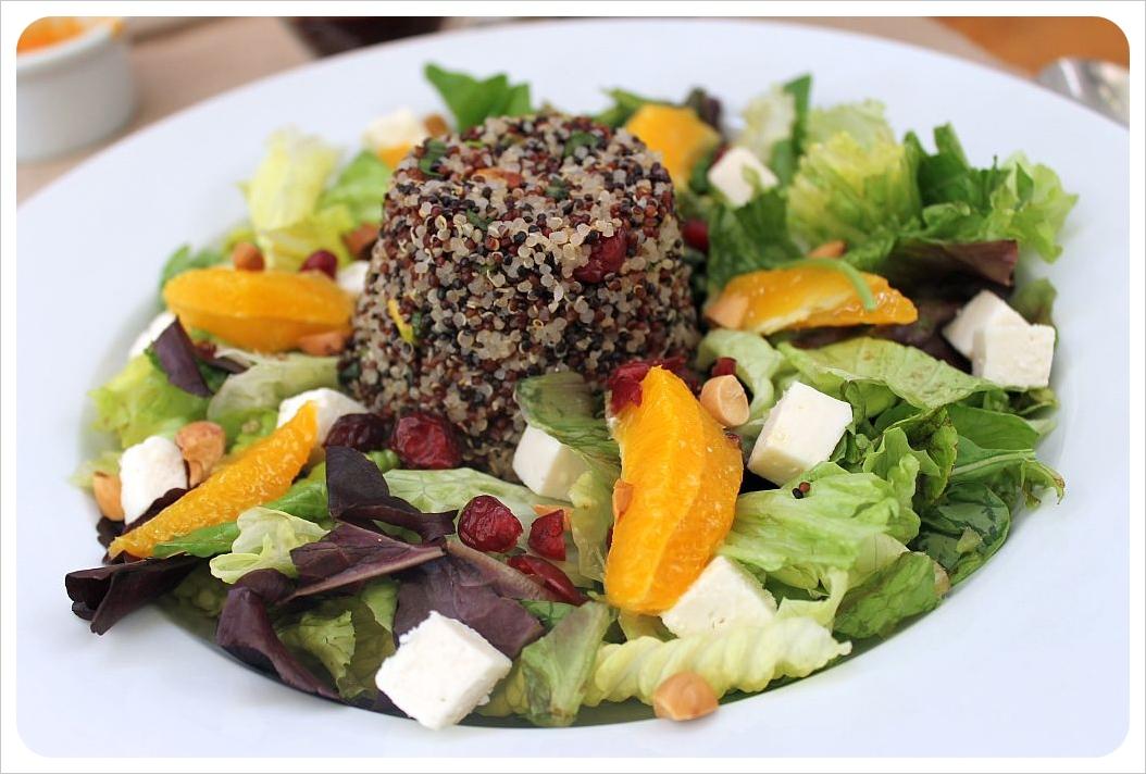 quinoa salad at quinoa