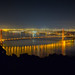 San Francisco - Golden Gate at Night from Marin Headlands by Jeff Krause Photography