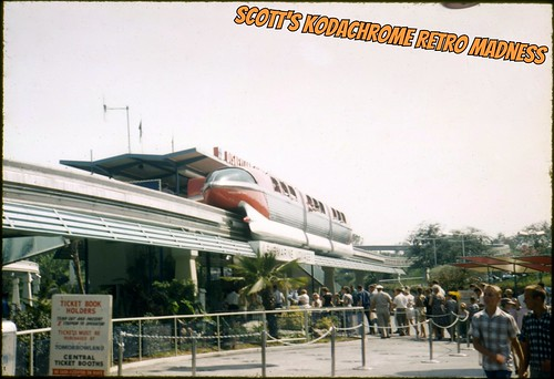 Disneyland Monorail September 1960