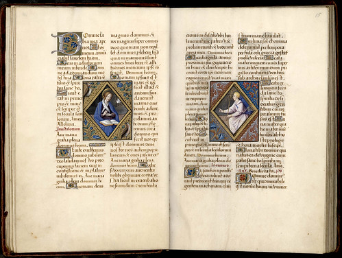 028-14v-15r--Thott 541 4 ° Liber horarum –Francia 1500- The Royal Library