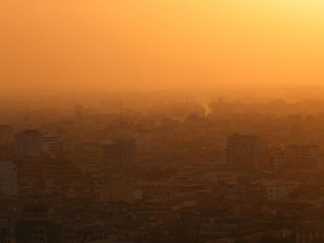 Phnom Peng sunsetDSCF0530