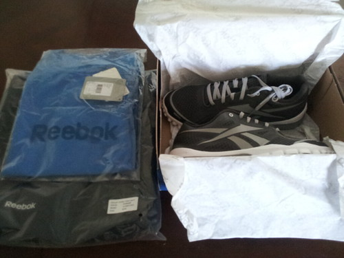 My Reebok gear has arrived!