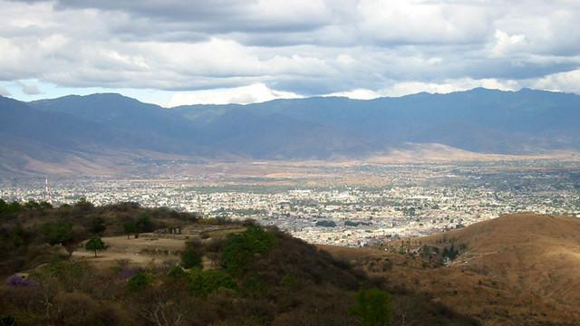 IMG_2051:Oaxaca from Monte Albán