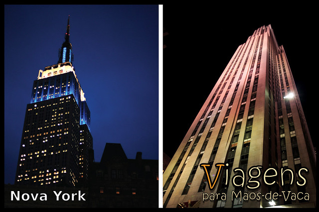 Empire State Building e Rockefeller Center - Nova York