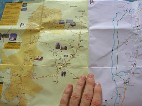 Map Northern Thailand