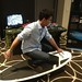 Mark Deklin on RipSurfer at the Kari Feinstein Oscars Style Lounge (from SurfSet Fitness)...