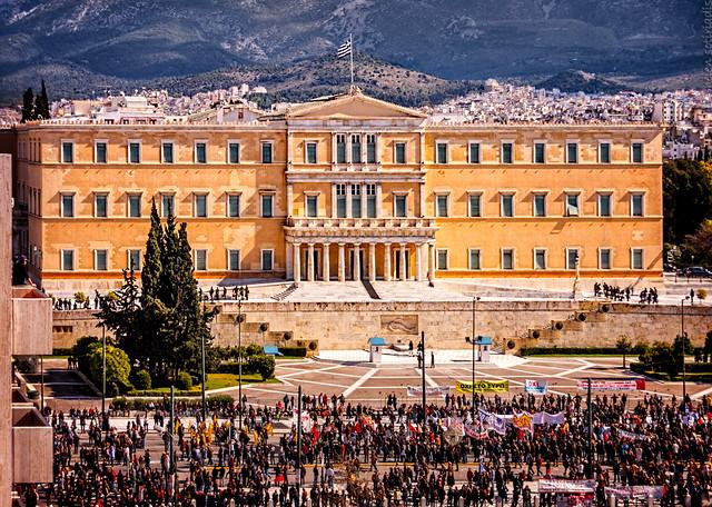 general strike - athens - feb 20 2013