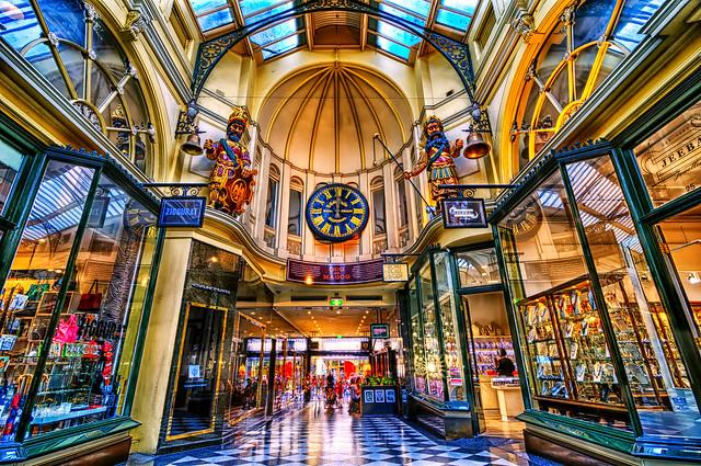 Royal Arcade With Gog & Magog