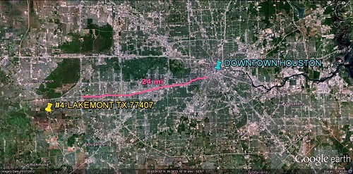 #4 Lakemont in relation to Houston (via Google Earth)