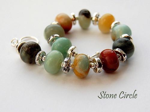 Stone Circles Bracelet by gemwaithnia