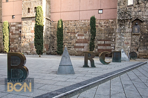 Barcino, de Joan Brossa, Barcelona
