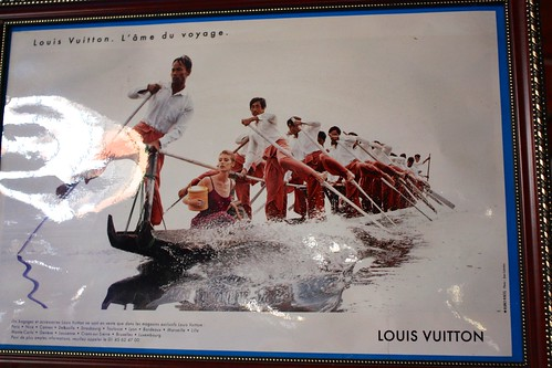interesting Louis Vuitton ad. Would you believe it when I told you I found this in a monastery?