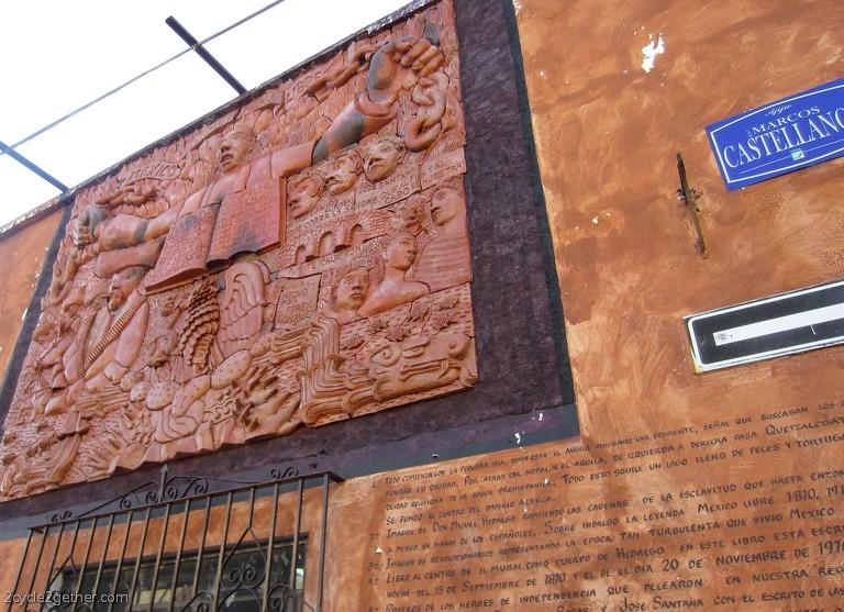 Ajijic Street Scene : Murals (Efren Gonzalez)